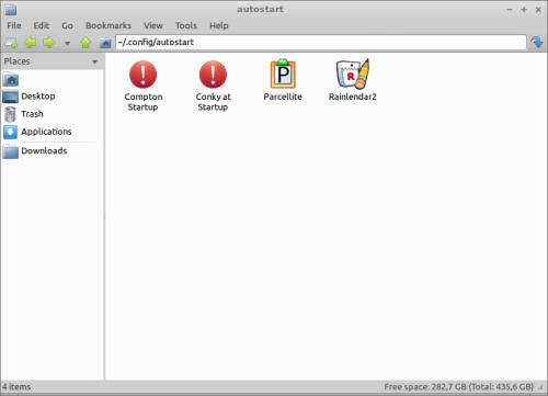 PCmanFM-autostart