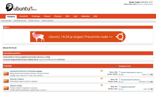 Ubuntu-RS-forumi